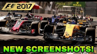 F1 2017: NEW SCREENSHOTS! (CAREER MODE, 2017 CARS & CLASSIC CONTENT). SO JUST ABOUT 1HOUR AGO THERE...
