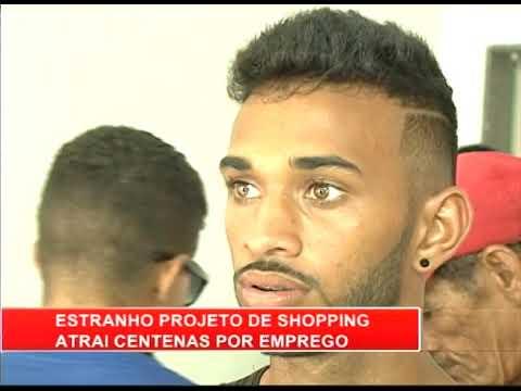 [RONDA GERAL] Projeto de shopping atrai centenas de pessoas por emprego no Cabo