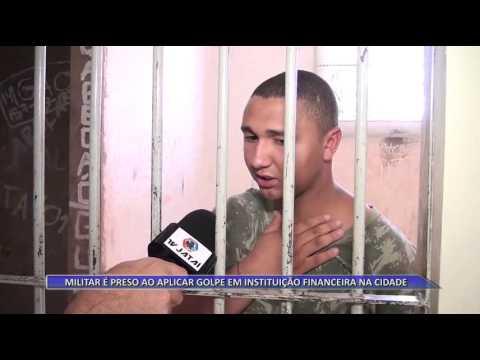JATAÍ | Militar é preso ao aplicar golpe em instituição financeira