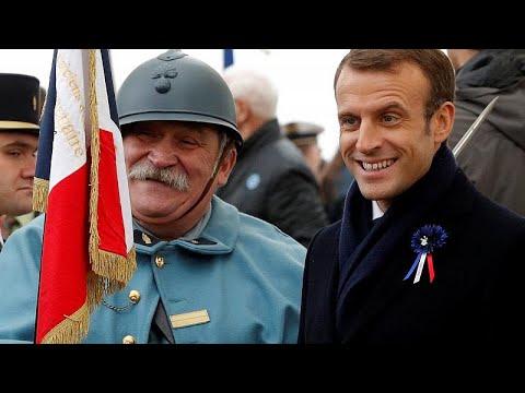 Frankreich: Macron besucht Schlachtfelder des Ersten Weltkrieges