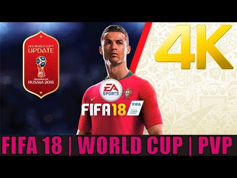 [4K 60 PS4 PRO] FIFA 18 WORLD CUP | PVP ENGLAND ROAD TO FINALS | PS4 PRO 4K 2160P FIFA 18 GAMEPLAY