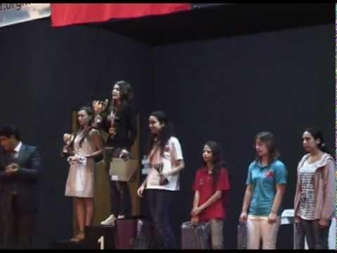 2011 Avrupa Okullar Arası Bireysel Satranç Şampiyonası Kapanış Töreni