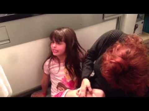Little Girl Gives Dramatic Rendition of