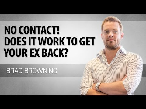 No Contact To Get Your Ex Back - Does Ignoring Your Ex Actually Work? (видео)