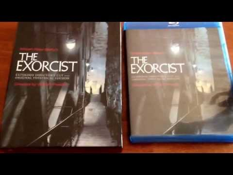 40th - UNPACKAGING OF THE NEWLY RELEASED 40TH ANNIVERSARY EDITION OF THE EXORCIST ON BLU RAY. THANKS SO MUCH & ENJOY MY VIDEO =)