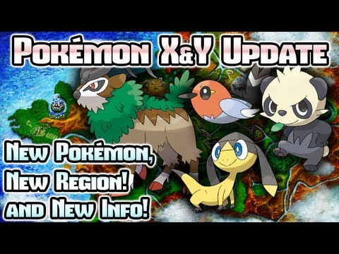 Pokemon - Pokémon recently revealed a TON of Pokémon X & Y stuff, including new Pokémon — Fletchling, Helioptile, Pancham, and Gogoat — as well as more info about the ...