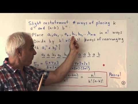 FamousMathProbs 5: Omar Khayyam and the Binomial Theorem
