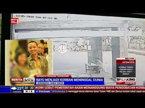 Aksi Heroik Bayu Hadang Teroris Masuk Gereja Santa Maria