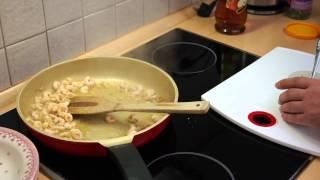 Krewetki w sosie czosnkowo cytrynowym