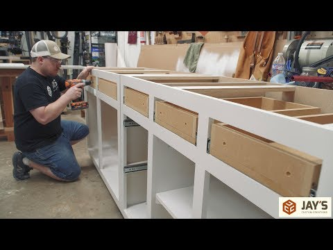 Making DIY Budget Cabinets