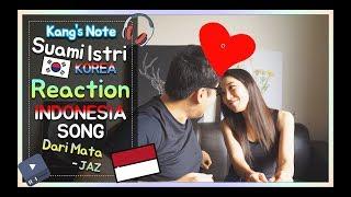 Video Reaksi KANG & NURI dengerin lagu Dari Mata - JAZ MP3, 3GP, MP4, WEBM, AVI, FLV Maret 2018