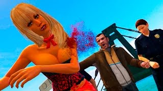 GTA V Crazy Funny Moments Compilation #43. Grand Theft Auto 5 Niko Bellic Mod. Please leave a LIKE for more GTA 5 and also subscribe for more Videos. Thanks! 😊Subscribe to my Channel 😹 http://goo.gl/eMs3IxTwitter! https://twitter.com/BlackCat_YT