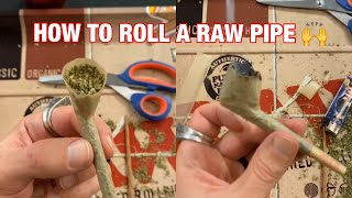 Wonka shows you how to roll a RAW Pipe! by Raw Papers