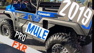 7. LIFTED 2019 Kawasaki MULE PRO FXR