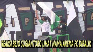 BEJO SUGIANTORO MAR4H LIHAT NAMA AREMA FC DIBALIK DI PAPAN SKOR