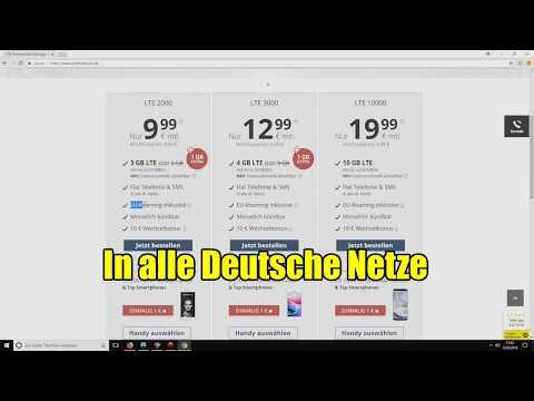 Günstiger Handyvertrag für 10 Euro - Allnet Flatrate fü ...