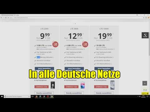 Günstiger Handyvertrag für 10 Euro - Allnet Flatrat ...