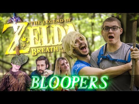 BREATH OF THE WILD ADVENTURES IN REAL LIFE - BLOOPERS