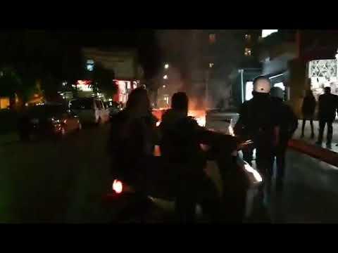Video - Μολότοφ, χημικά, φωτιές & προσαγωγές- Όσα έγιναν χθες στο κέντρο της Πάτρας