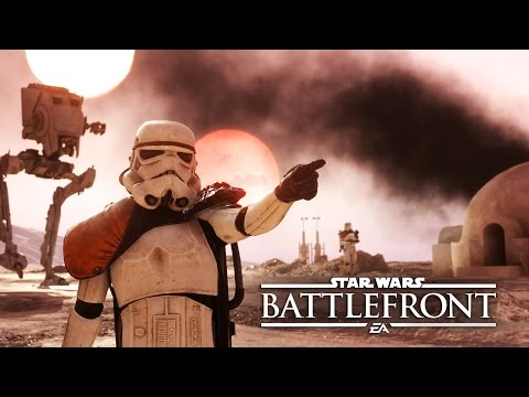 Watch Star Wars Battlefront Gameplay Launch