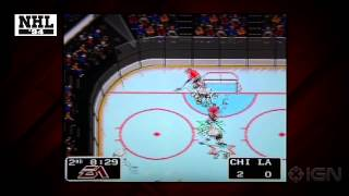 NHL 14 - NHL 94 Mode Video Preview