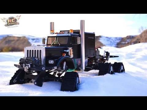 RC ADVENTURES - HD OVERKiLL - 6WD Tracks, 5 Motors, 5 ESC's, PURE POWER SEMi TRUCK