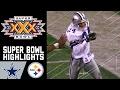 Cowboys vs. Steelers Super Bowl XXX Recap   NFL