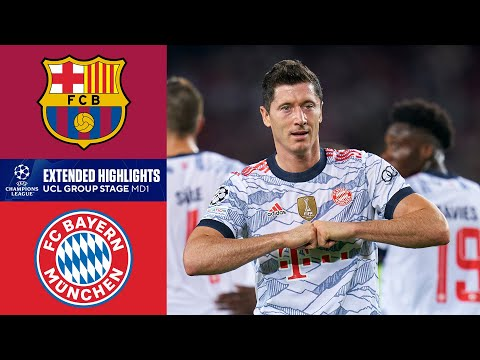 Barcelona vs. Bayern Munich: Extended Highlights | UCL Group Stage MD 1 | CBS Sports Golazo
