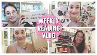 WEEKLY READING VLOG | 16th - 22nd April!