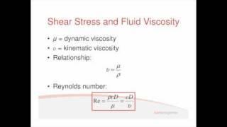 Fluids Lecture 1.2 - Laminar Flow (S2)