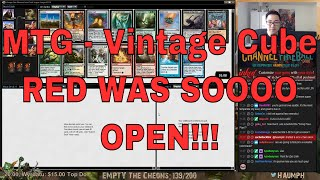"""Vintage Cube is back up on Magic Online and that means this is literally all I'm going to be doing until I start working for WOTC. A fitting way to end my streaming career. In this draft, I told myself that I wanted to do something super sweet and fun since it's Vintage Cube...but but... red was so incredibly open that I just had to do some burninating.- Go to https://www.ChannelFireball.com for all your MTG needs! Put in Coupon Code: HAUMPH to get 5% off your current purchase!Empty the Cheons tokens are also available and simply put in: HAUMPH under the comments sections to get some Empty the Cheons tokens!- Customize your very own playmat at Inkedgaming.com! Your game, your style, use coupon code """"Haumph"""" to receive 12% off your purchase! - https://www.inkedgaming.com/- Buy, sell, and even rent cards on MTGO through Manatraders! Rent all the cards you want for one low monthly price and use COUPON CODE: HaumpHTwitch to get 20% off your first monthly subscription! - https://www.manatraders.com/?medium=H...Don't forget to hit that Like button and Subscribe!Stream: https://www.twitch.tv/haumphTwitter: https://twitter.com/haumphEmail: magichaumph@gmail.comFacebook: https://www.facebook.com/paul.cheon.7"""
