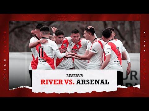 River vs. Arsenal [Reserva - EN VIVO]