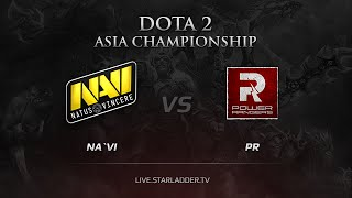 Na'Vi vs PR, game 2