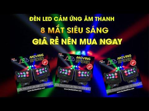 Đèn LED Fury hiệu ứng ánh sáng mạnh và sôi động