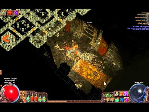 Path Of Exile Map Bosses - Overgrown Ruin lvl 66