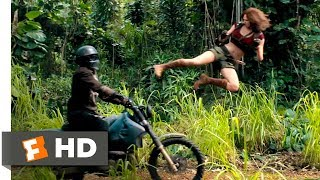 Nonton Jumanji  Welcome To The Jungle  2017    Motorcycle Assault Scene  2 10    Movieclips Film Subtitle Indonesia Streaming Movie Download