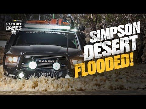Crossing the FLOODED Simpson Desert • Patriot Games Season 3 • Episode 6