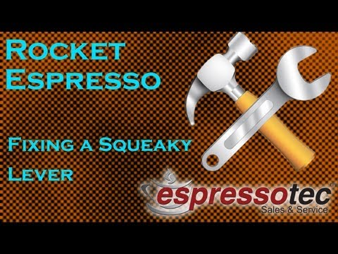 Rocket Espresso Machine Maintenance – Fixing a Squeaky Grouphead Lever