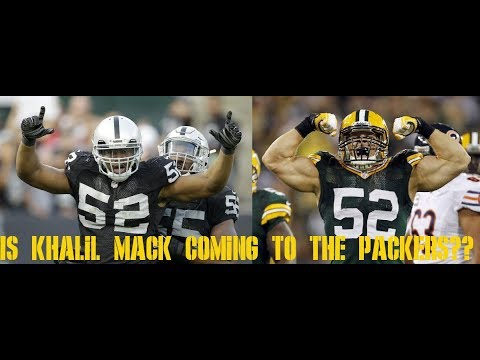 IS KHALIL MACK COMING TO THE PACKERS??