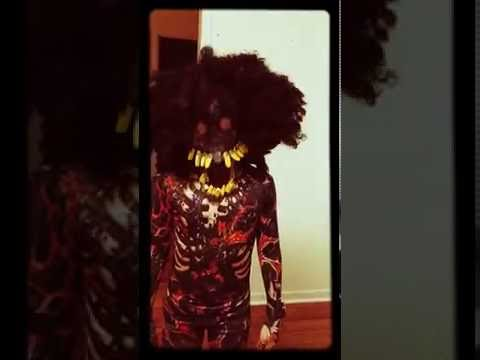 Kids Zombie Halloween costume morphsuit burnt zombie