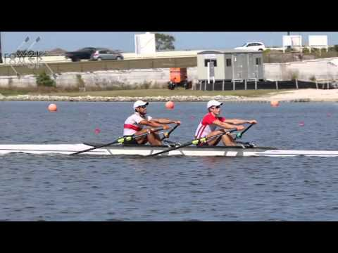 2016 USA Rowing Olympic Trials - LM2x Training