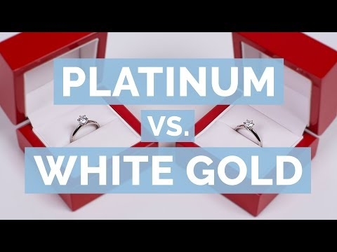 Platinum vs. White Gold | The Diamond Pro Guide