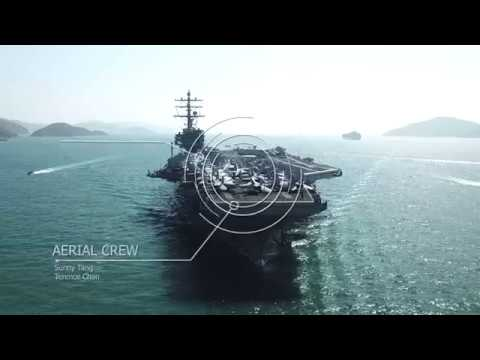 USS Ronald Reagan visit Hong Kong 列根號訪港 20181121