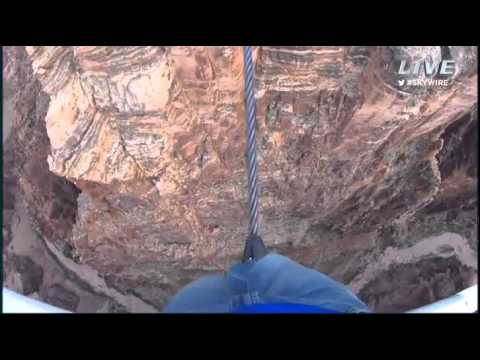 Coverage of Nik Wallenda's Tightrope across Grand Canyon