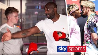 Boxing Psychology and Impact of 10oz gloves on KSI & Logan Paul