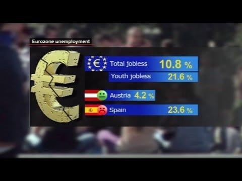ارتفاع تاريخي لمعدلات البطالة في أوروبا - فيديو