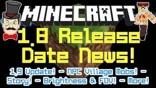 Minecraft 1.8 Release Date Hot News from Notch at PAX! Plus 1.9 Update!