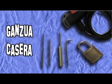 ganzuas - Como Hacer una Ganzúa Casera para Abrir Cerraduras. Experimento Casero. SUSCRÍBETE: http://www.youtube.com/user/LlegaExperimentos?sub_confirmation=1 - Síguem...