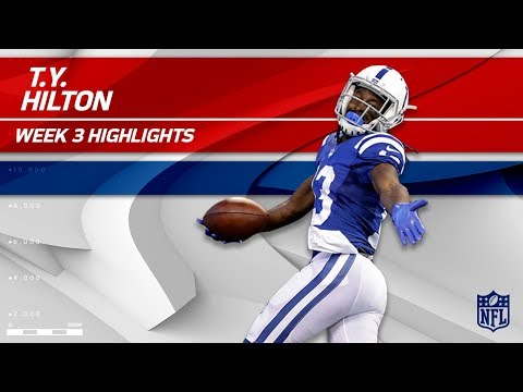 Video: T.Y. Hilton's 7 Grabs for 153 Yards & 1 TD! | Browns vs. Colts | Wk 3 Player Highlights