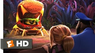 Nonton Cloudy with a Chance of Meatballs 2 - Cheese Spider Attack Scene (4/10) | Movieclips Film Subtitle Indonesia Streaming Movie Download